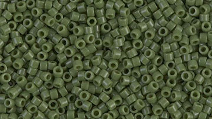 Miyuki Delica 11/0 Vert Olivine Opaque
