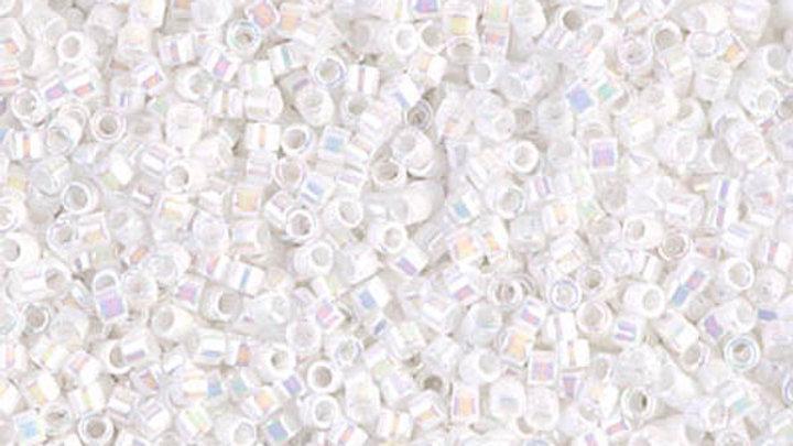 Miyuki Délica 11/0 Blanc Opaque AB