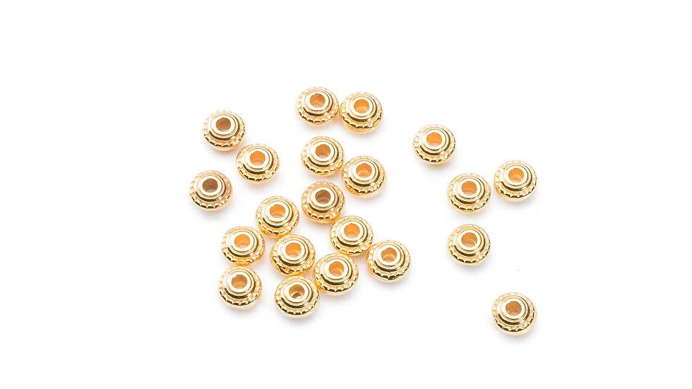 Perle rondelle 5x3mm x1pièce