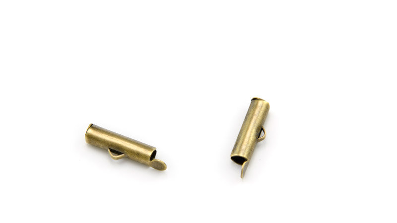 Embout tube 16 x 4 mm bronze x 1