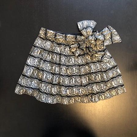 JILL STUART Black&White Skirt