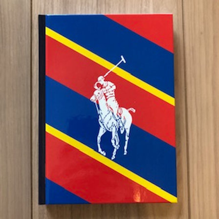 POLO RALPH LAUREN NOTEBOOK