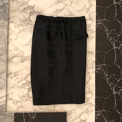 Satin shadow skirt