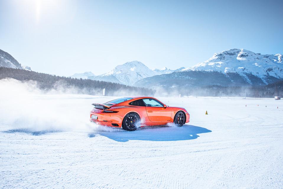 Porsche Experience: Winterfahrtraining