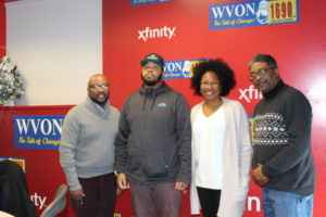 MC TEAM MEMBERS FEATURED ON WVON RADIO SHOW