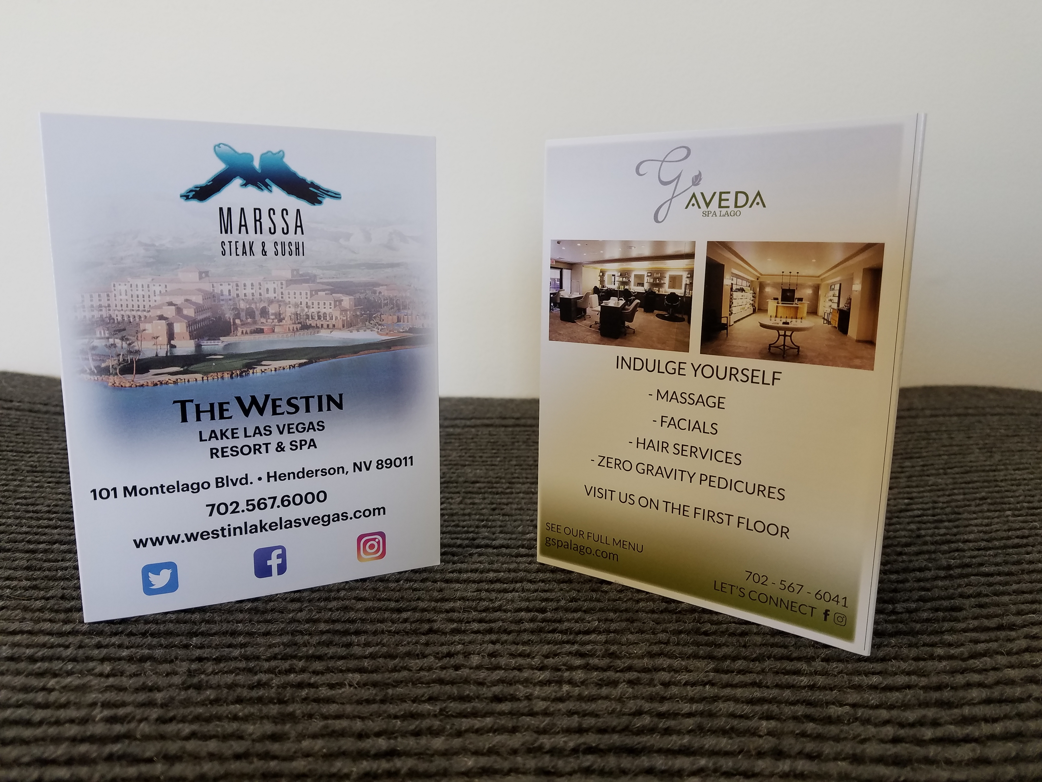 Website Brochure (Westin Marssa G Aveda)