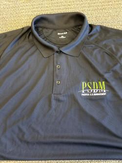 Website Embroidery Polo (PSDM Black)