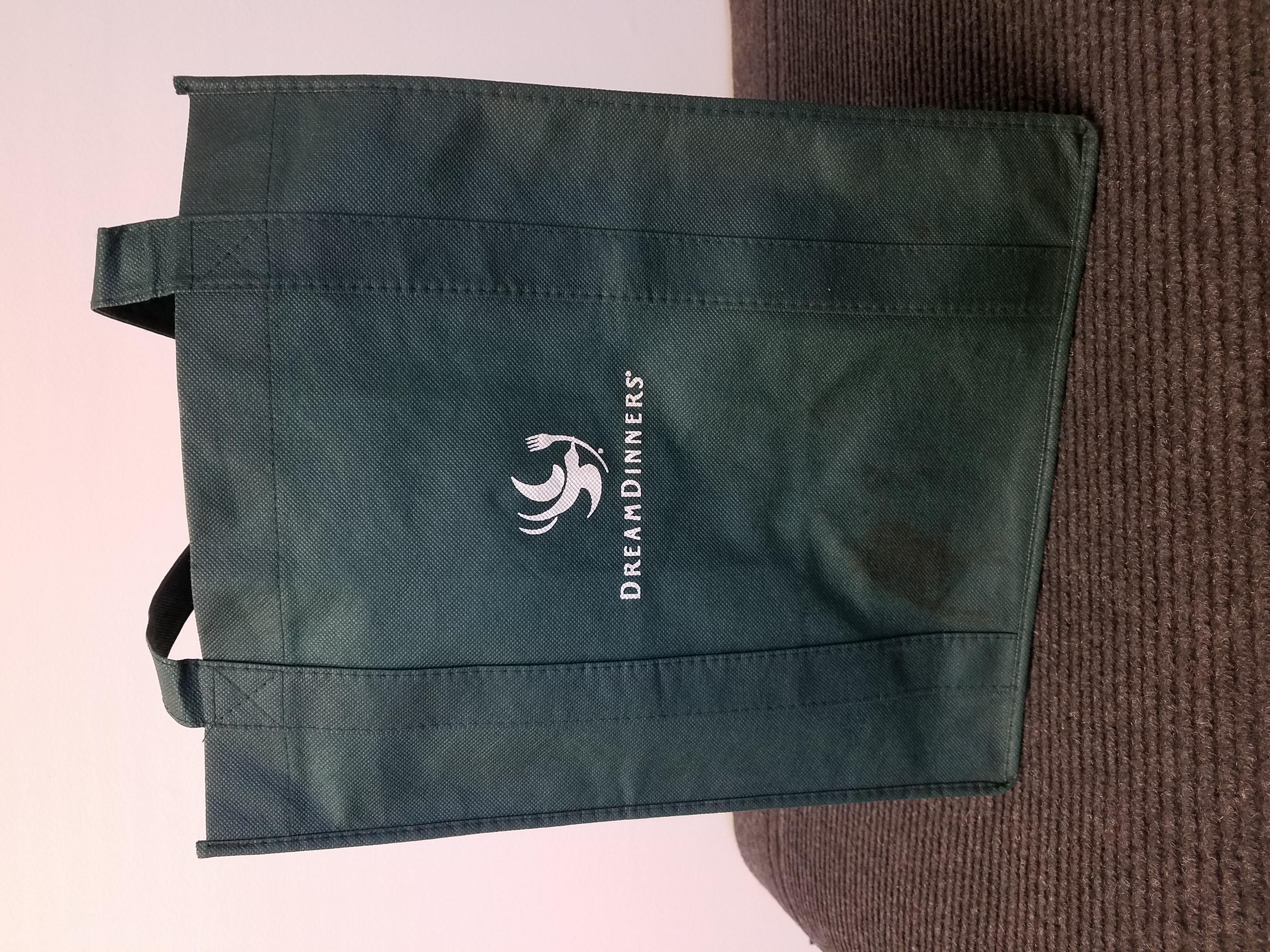 Website Tote Bage Image (Dream Dinners Large Green)