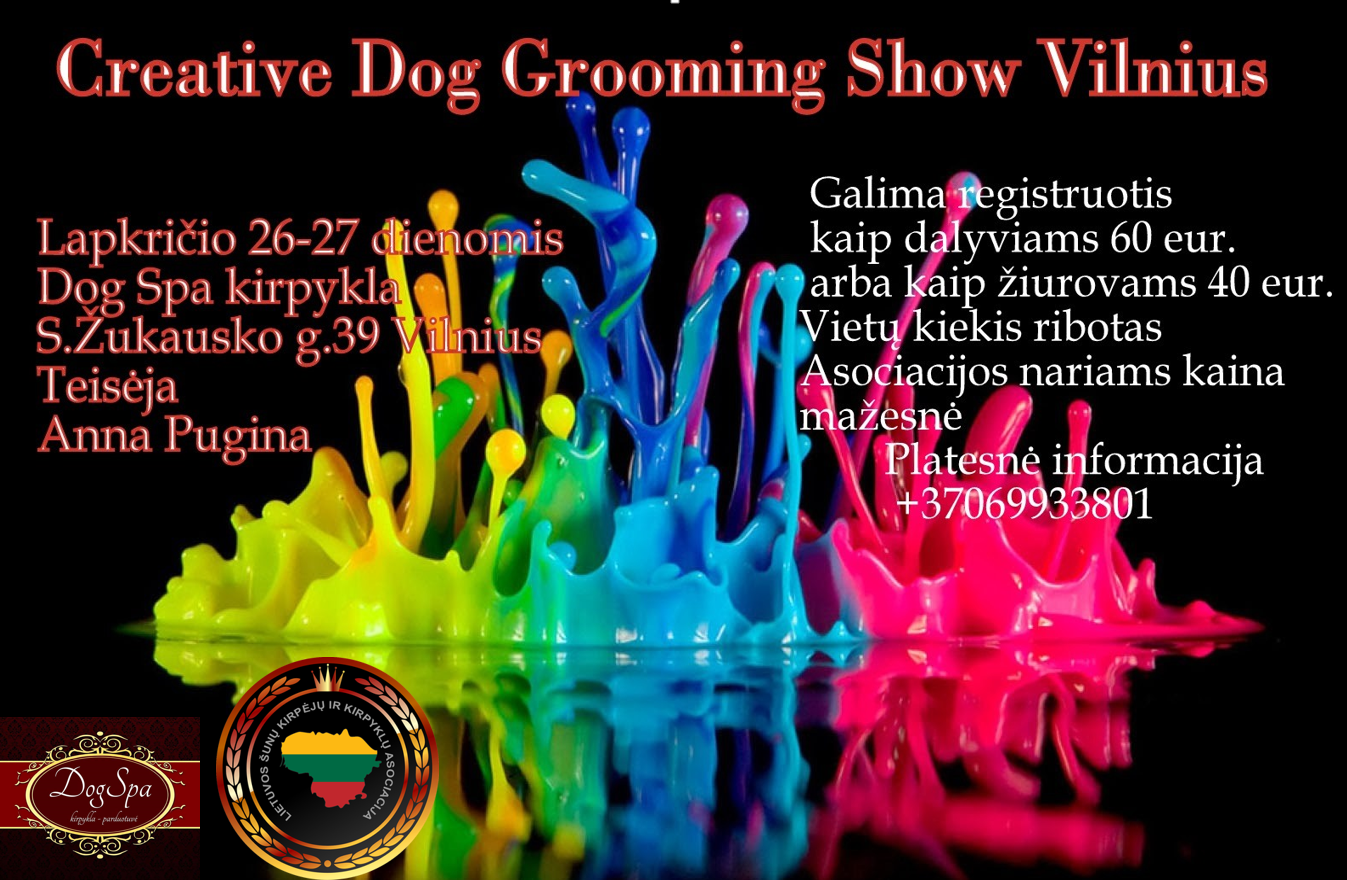 Creative Dog Grooming Show