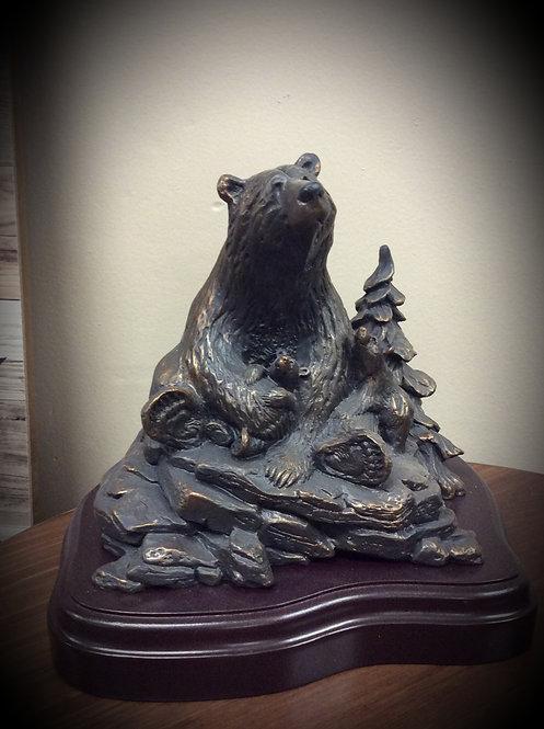 Spring Cubs Sculpture