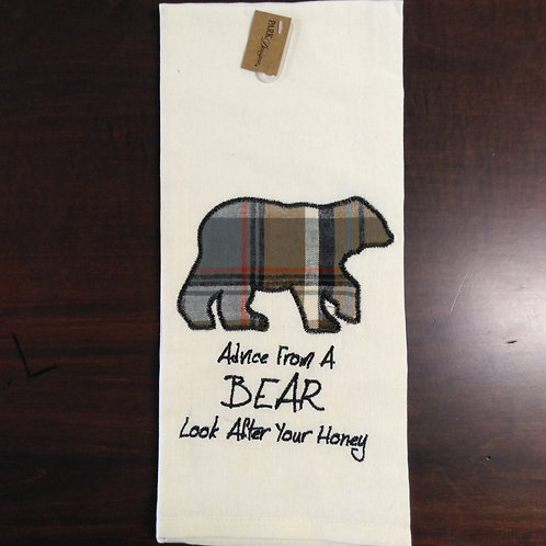 Lessons From A Bear Dish Towel