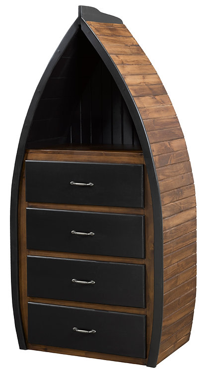 4 Drawer Captains Boat Dresser