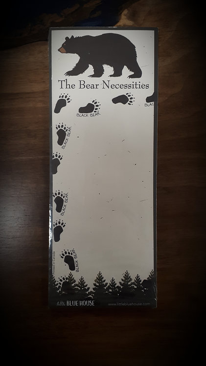 The Bear Necessities Magnetic List
