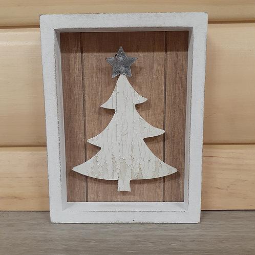 Christmas Table Sign Block