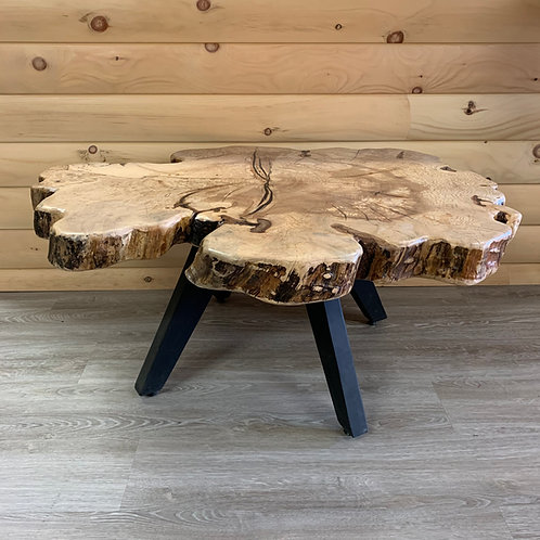 Live-Edge Cookie Coffee Table