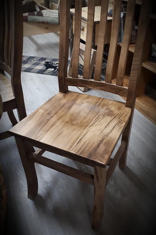 Mission Wormy Maple Chair