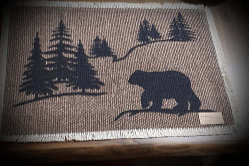 Bear Scene Placemat