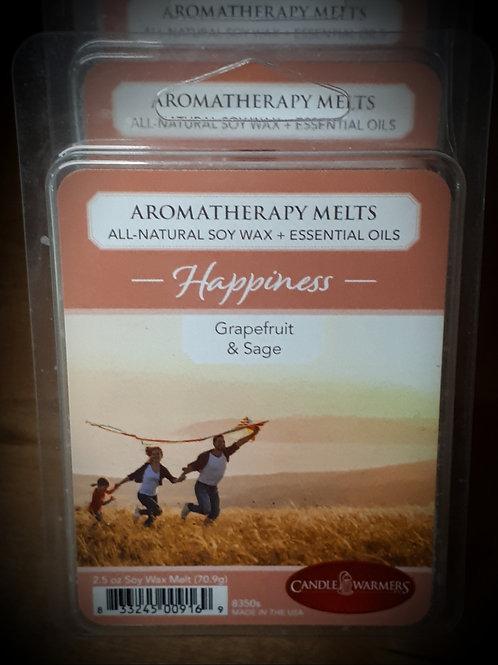 Grapefruit & Sage Aromatherapy Melts