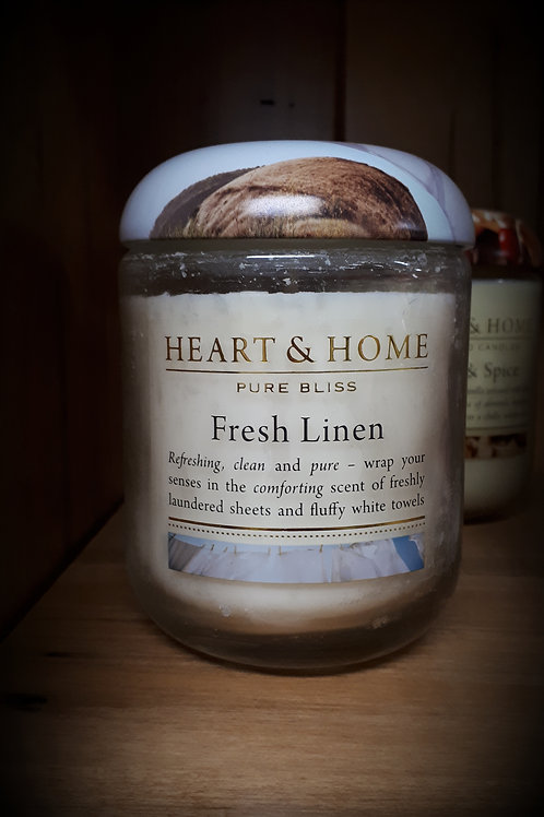Fresh Linen Candle - small