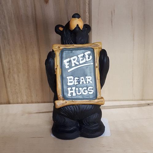 Free Bear Hugs Figurine