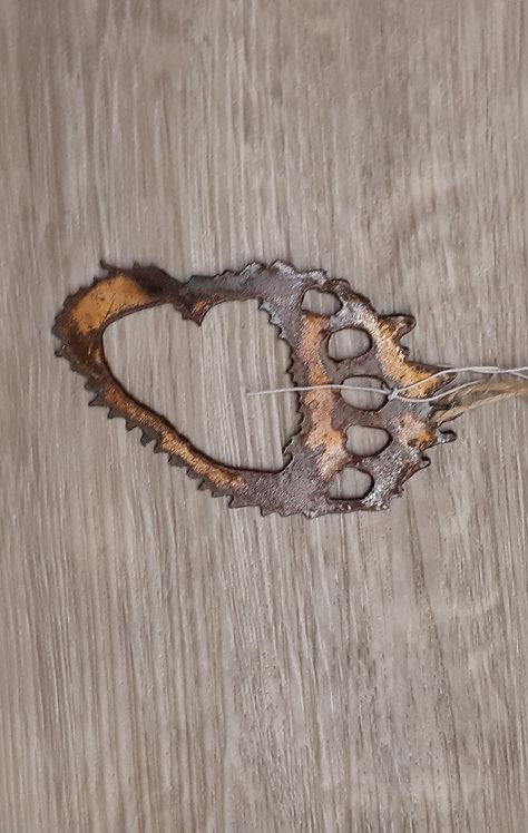 Metal Ornament - Bear Paw