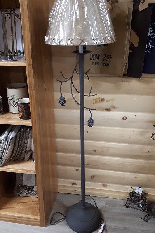 Pine Cone Branch Floor Lamp