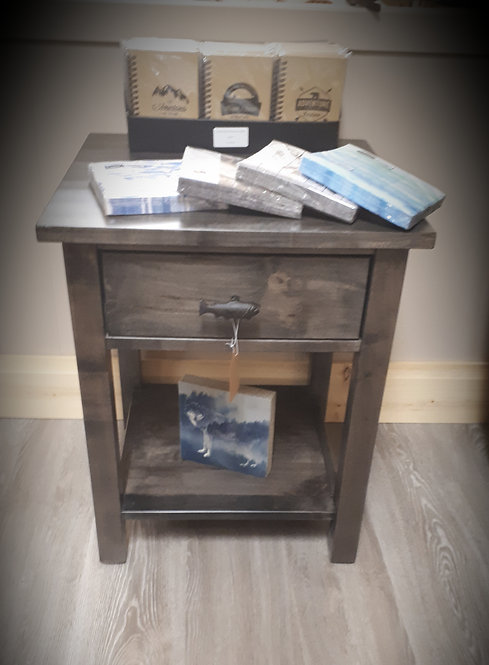 Moose River Wormy Maple End Table
