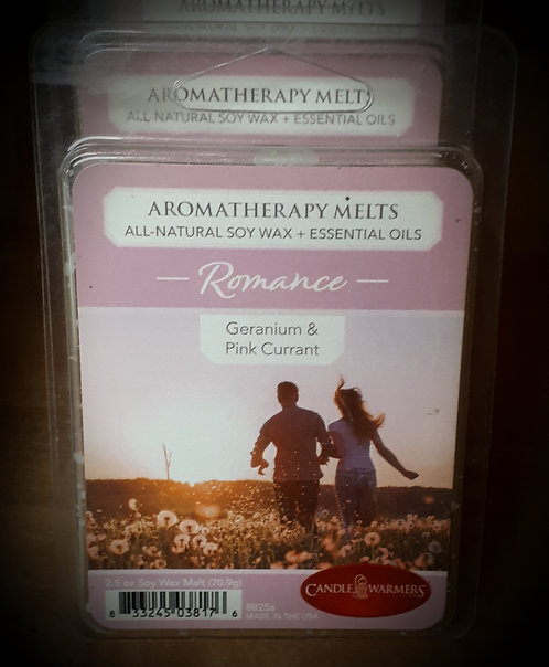 Geranium & Pink Current Aromatherapy Melts