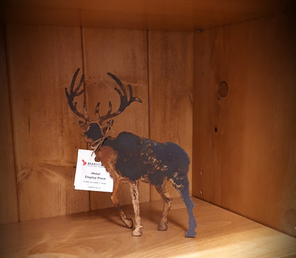 Rusted Metal Elk Small
