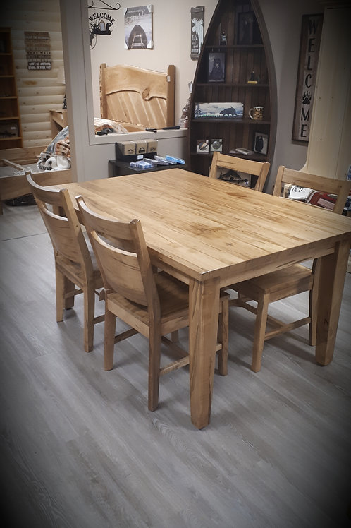 Moose River Wormy Maple Table
