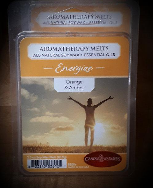 Orange & Amber Aromatherapy Melts