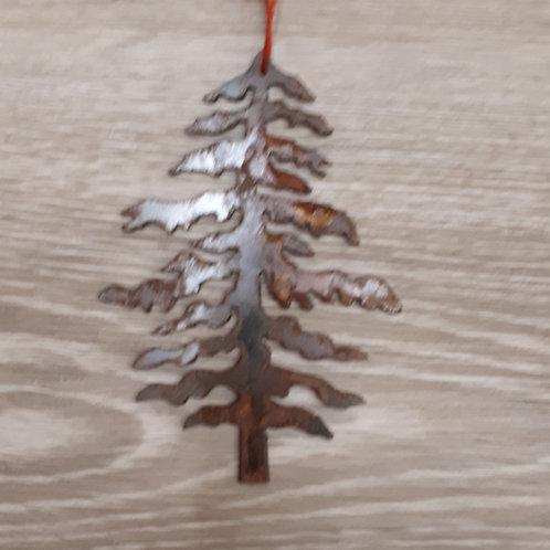 Metal Ornament - Tree