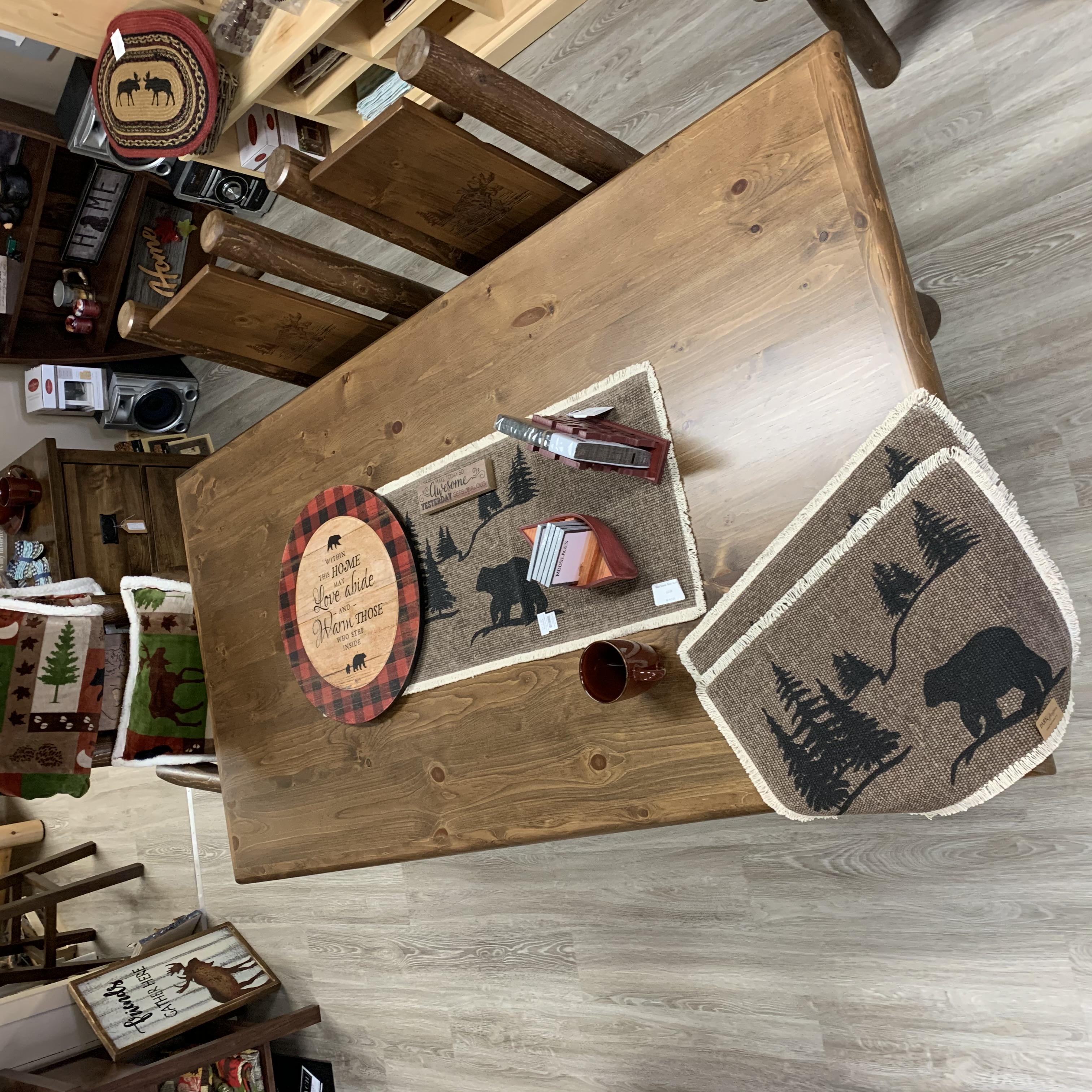 Log Harvest Table