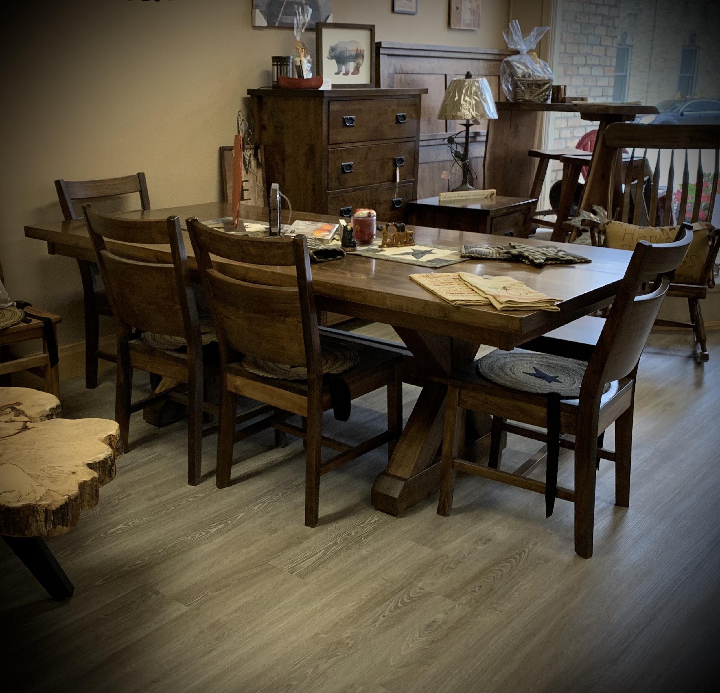 Trestle Harvest Table