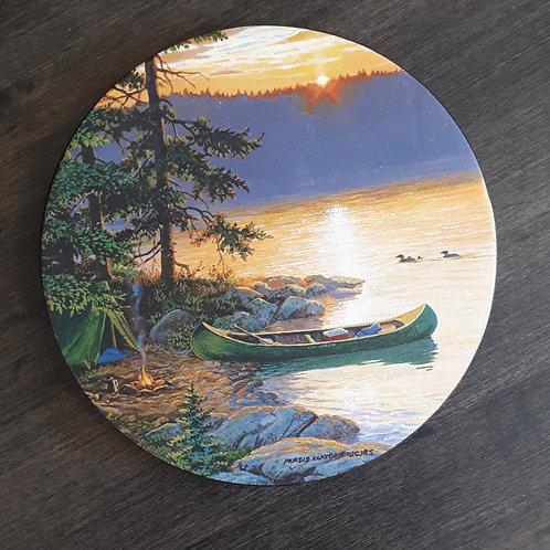 Summer Canoe Coaster Set of 4