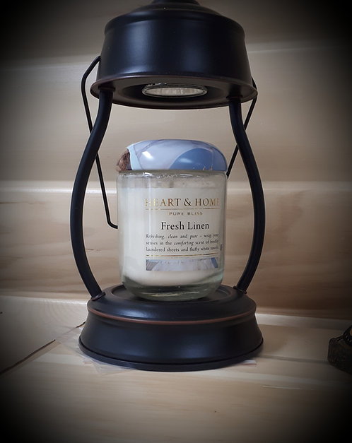 Oil Rubbed Hurricane Candle Holder Lantern