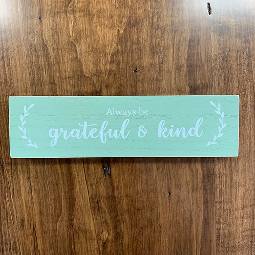 Grateful & Kind Everyday Block