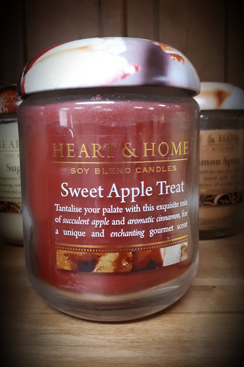Sweet Apple Treat Candle - Large