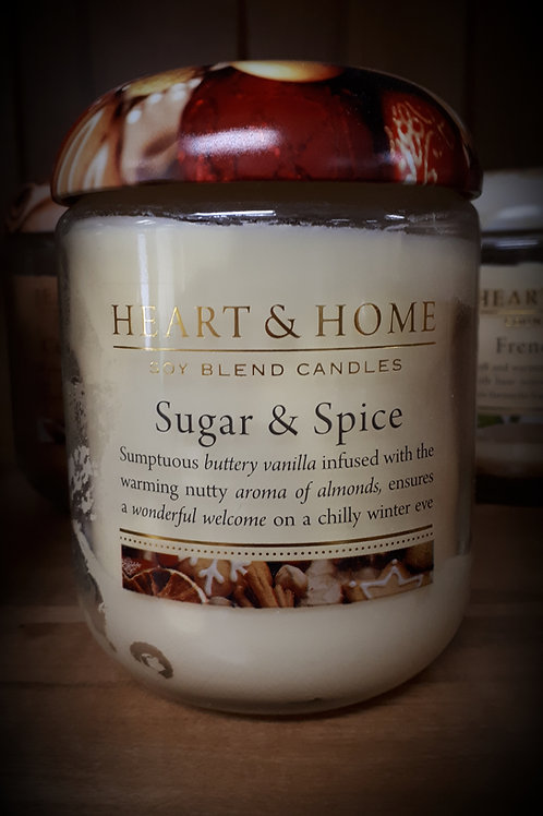 Sugar & Spice Candle - Large