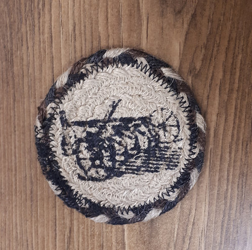 Charcoal Plow Coaster Set of 6 - Sawyer Mill