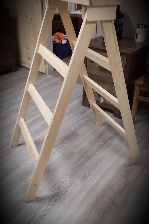 Wormy Maple Quilt Rack