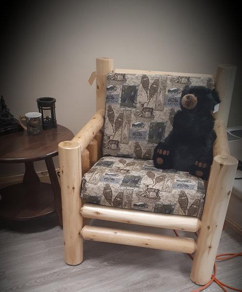 Cushion Log Chair