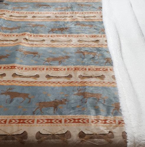 Moose Tracks Bedspread Set