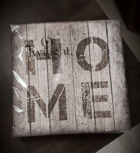 Wooden Sign Napkin