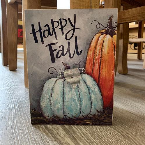 Fall Table Block