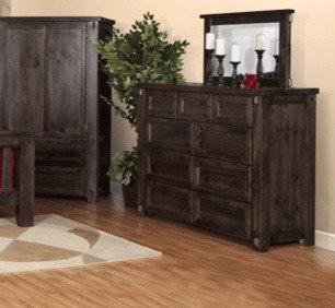 Heritage River 9 Drawer Dresser