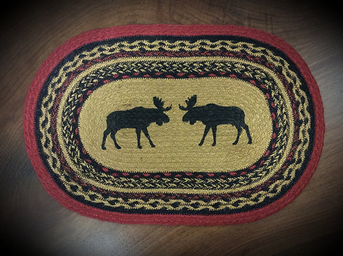 Cumberland Stenciled Moose Placemat