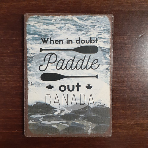 Paddle Out Magnet