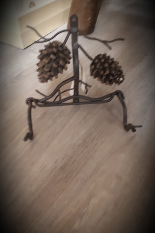 Country Pinecone Toilet Paper Holder
