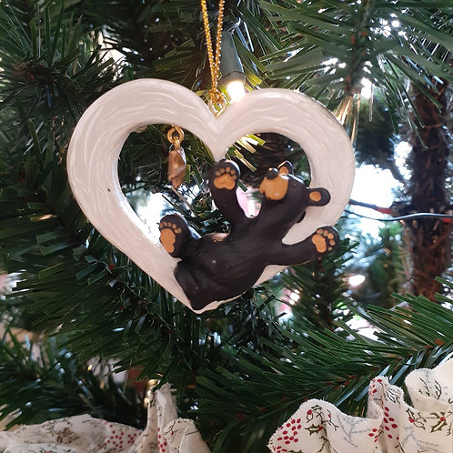 Gotta Have A Heart Bear Ornament